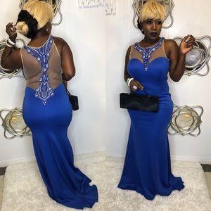 Beautiful women dress #Blue